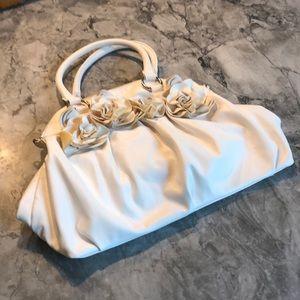 Cream Big Buddha shoulder bag